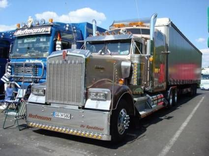 Аэрография на грузовых фурах