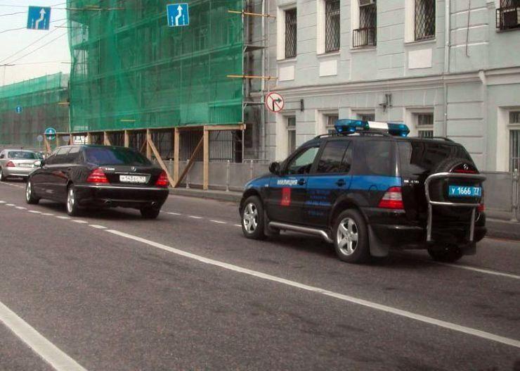 Милицейские автомобили