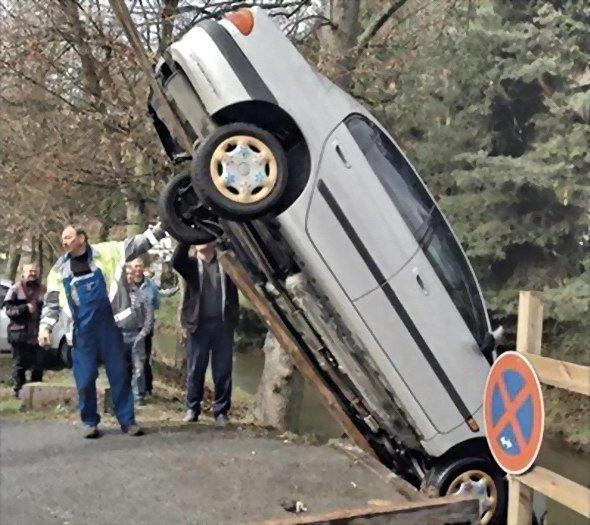 Прикольные аварии