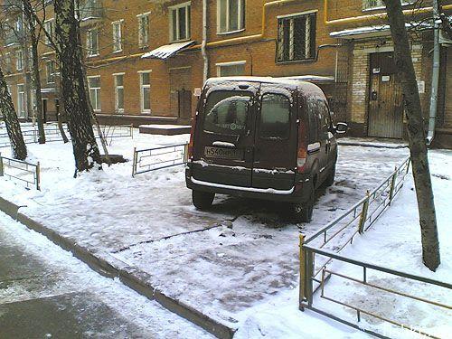 Монстры парковки