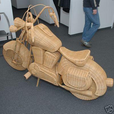 Плетеный мотоцикл