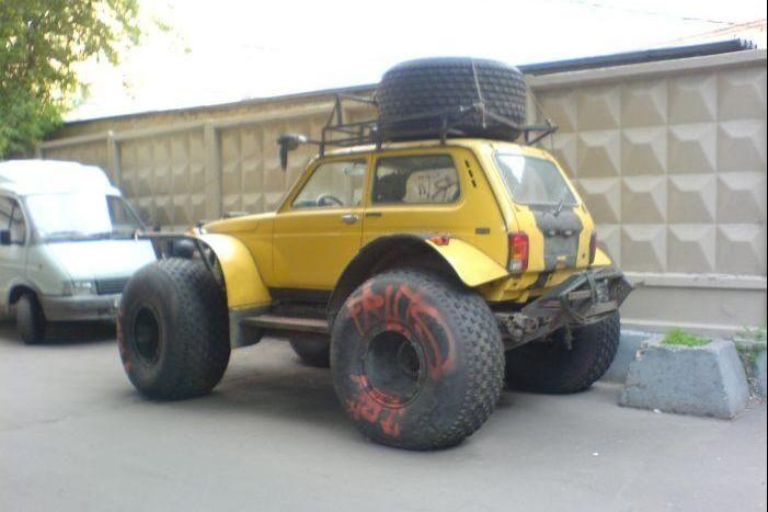 Прикольные автомобили