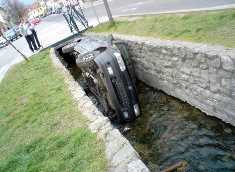 Авария в канаве
